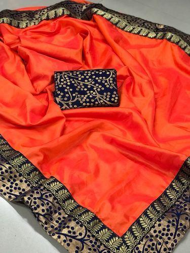 17dd8bb941f6f Jecquard Silk RNS 2 Tone Sana Silk Saree