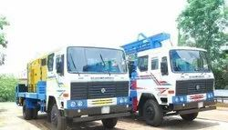PDTHR-450 Truck Mounted DTH Cum Rotary Drilling Rigs