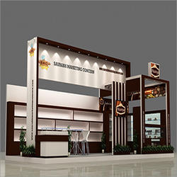3D View Stall Designing Service
