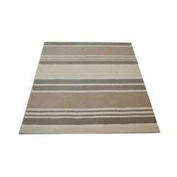 Rectangular Handloom Carpet, for Home & Offices