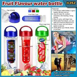 Arihant Round H-052 Fruit Flavoured Water Bottle, Model Name/Number: H052, Capacity: 600ml