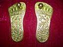Charan Paduka Gold Leafing