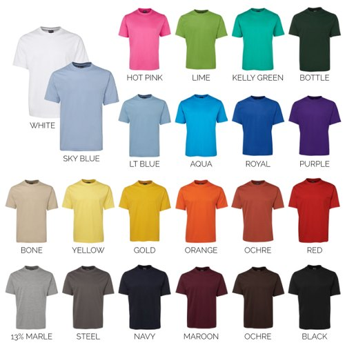 Corporate Colour T-Shirts at Rs 150/piece | प्रमोशनल टी ...