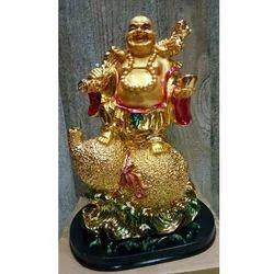 Standing Laughing Buddha Statue