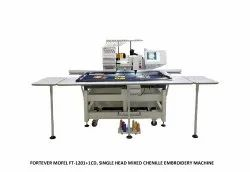 Fortever Model FT 1201  1 CT  Single Head Mixed Chenille Embroidery Machine