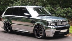 Car Wrapping Roll Silver Chrome