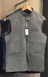 Grey Men Half Jacket