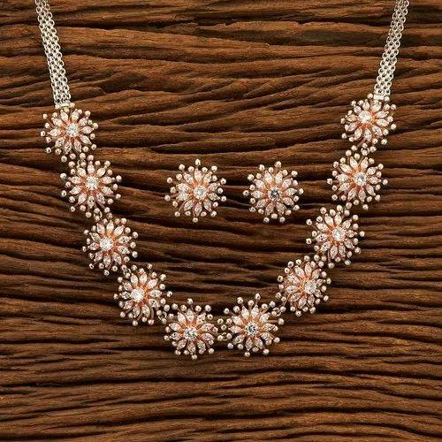 Designer Necklace Set Designer Handmade Gold Plated Necklace Set 350058 Wholesaler From Mumbai