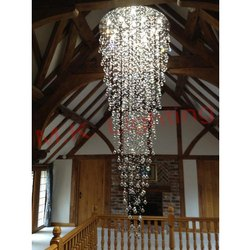 Crystal Duplex Chandelier