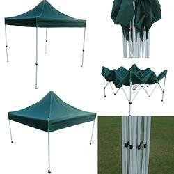Quick Foldable Gazebo Tent - 10'x10' - Green
