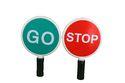 H23025 STOP GO Traffic Baton