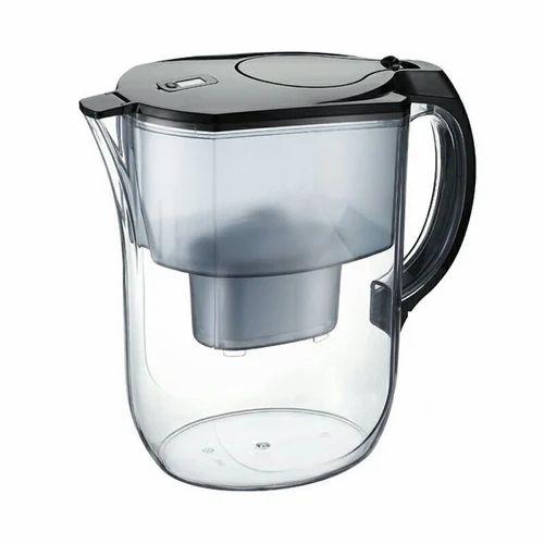 Transparent Alkaline Water Jug