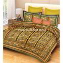 Double Bed Sanganeri Bedsheet