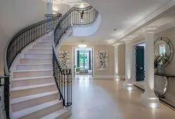 Galvanized Staircase Handrail