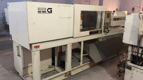 Used Injection Molding Machine TOSHIBA-100 Ton.
