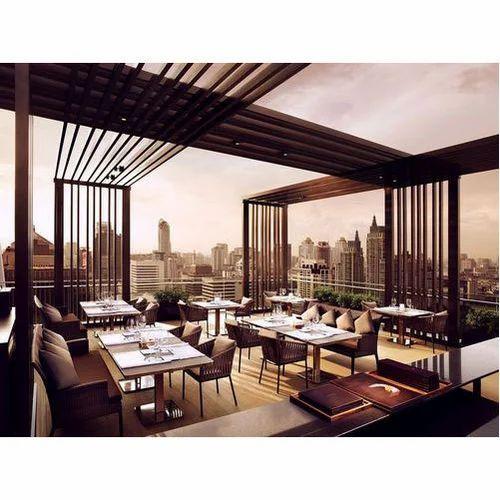 Rooftop Restaurant Interior Designer Service In Vadapalani Chennai