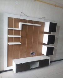 Wall Wooden TV Stand