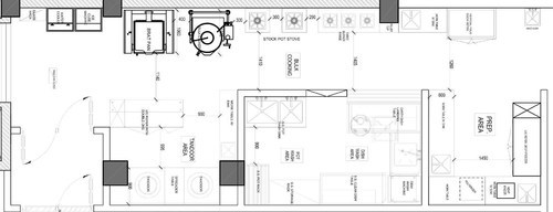 Commercial Kitchen Layout Planing