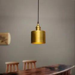 Cool White Handmade Hanging Lamp