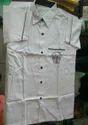 Uniform Half Sleeve White Shirt