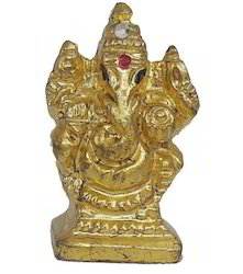 Gold Mounted Ganeshji