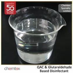 QAC & Glutaraldehyde Based Disinfectant