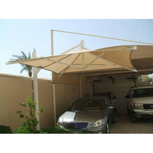 Outdoor Car Parking Awning At Rs 300 Square Feet Shade Awnings