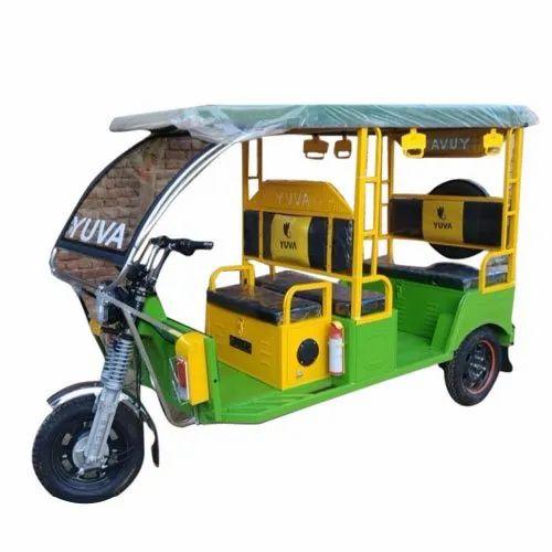 Yuva Battery Operated E Rickshaw, Vehicle Capacity: 5 Seater