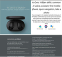 Mi AirDots Wireless Headphones BT 5.0 TWS with Wireless Charging case 12hrs Battery Life