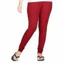 Ladies Stretchable Cotton Lycra Churidar Legging