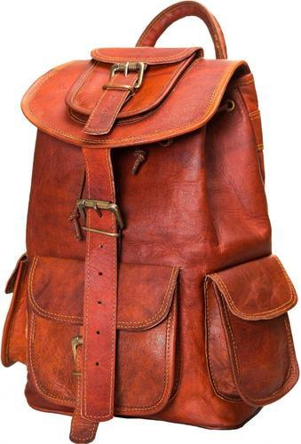 8f415fc3a9e3 Znt Bags Leather Classy Retro/vintage Dapper Rucksack/backpack For Men And  Women (multicolour)