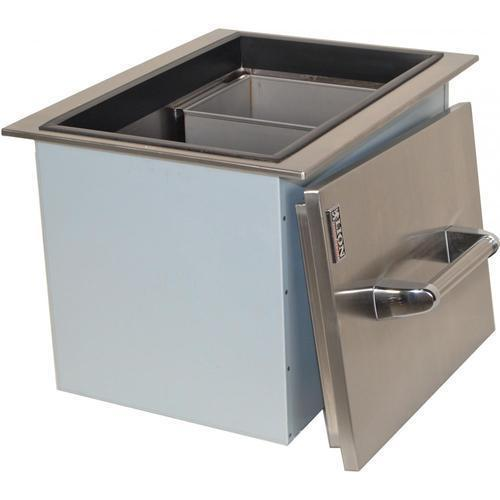 Sai Ram Equipments Silver Countertop Ice Bin Capacity 10 25 Kg