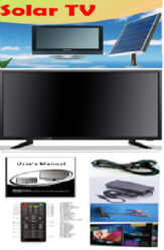 32 Inch Solar DC TV