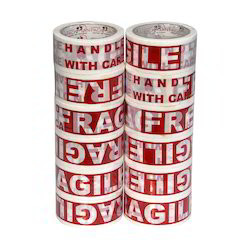 1 inch Fragile Printed 2 Inch BOPP Tape, for Packaging
