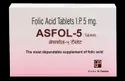 Folic Acid 5 mg (Asfol-5 Tablets)