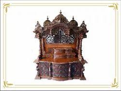 Big Iskon Krishna Temple With Steps