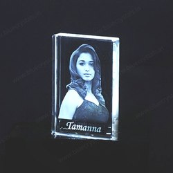 Crystal Laser Engraving Engraved Photo Crystals, For Office