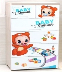 PLASTIC MULTI Baby Storage Cupboards