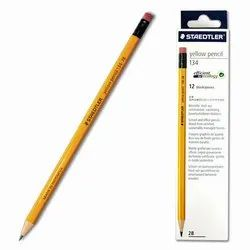 Staedtler 2B Pencil with Eraser Tip, Pack of 12