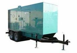 2 Wheel Generator Trailer