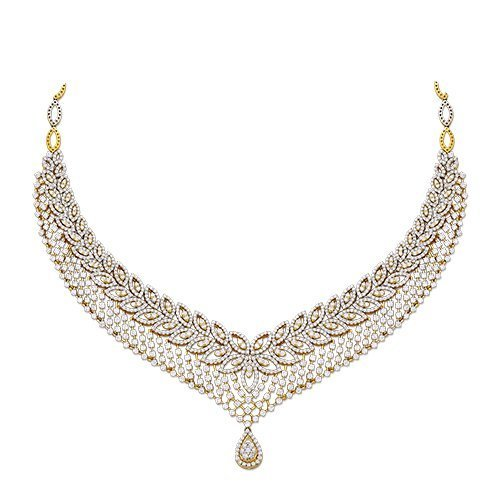 necklace jewellery zoom diamond loading set diamomd online buy
