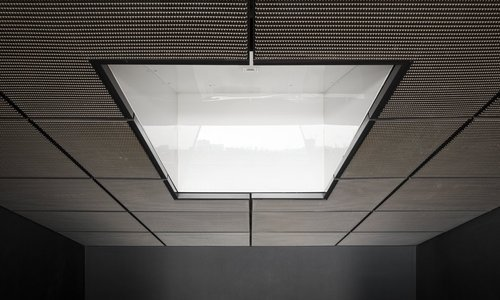 Concealed Grid Coated Led Ceiling Lights For Stadium Thickness 0 5 2 Mm Rs 650 Sqaure Feet Id 8939024973