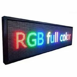 Moving Message LED Display Board