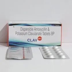 Dispersible Amoxycillin & Potassium Clavulanate 228.5mg Tablets