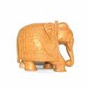 Interior Decor Wooden Elephant Statue