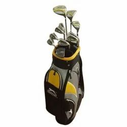 Black And Yellow Plain Golf Stand Bag