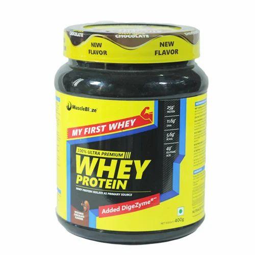 Muscle Blaze Muscleblaze Protein Powder, Weight: 400gm, Rs ...