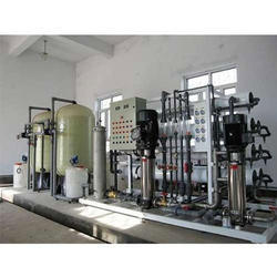 Natural Mineral Water Plant