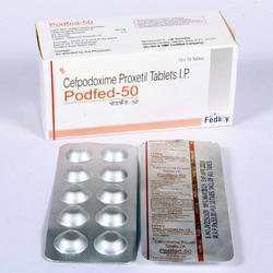Cefpodoxime 50 Mg Tablet