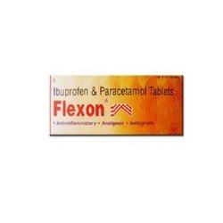 Flexon(Ibuprofen and Paracetamol)Tablets